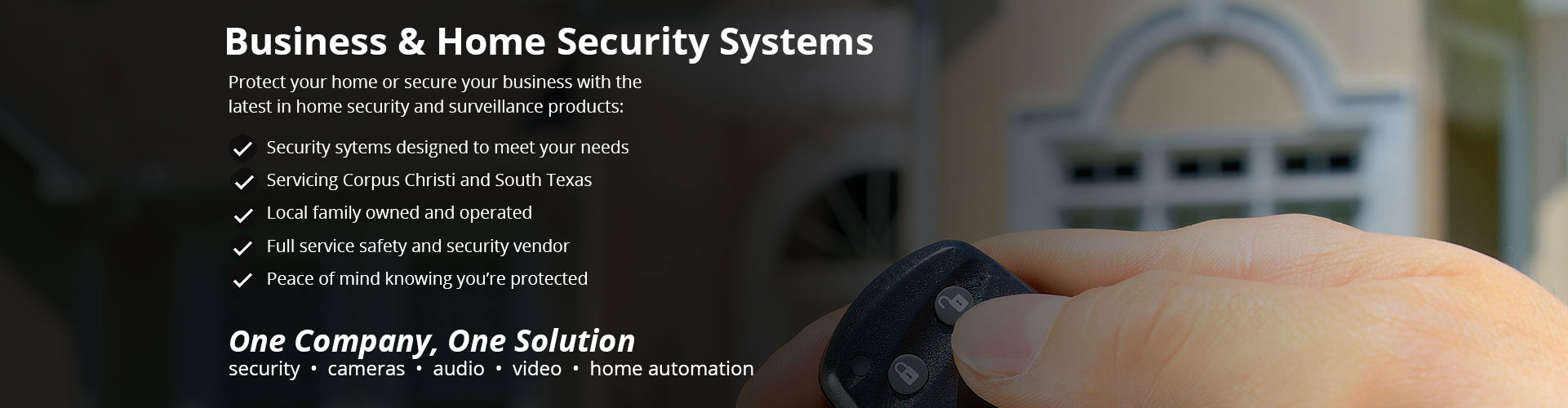 home security systems corpus christi